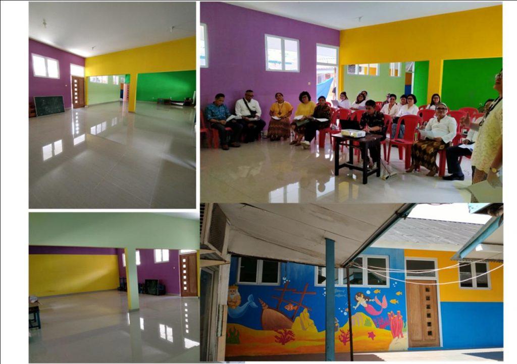 Renovasi Sekolah Yapendik Fajar Sion